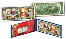 HO CHI MINH * Vietnam Icon & Leader * OFFICIAL Genuine Legal Tender $2 U.S. Bill