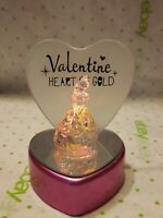 "Disney's BELLE Beauty And The Beast 4"" Light Up Color Changing, Heart, Valentine"