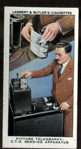 Lambert Butler, INTERESTING SIDELIGHTS WORK OF THE GPO,1939,Pict. Telegraphy,#23