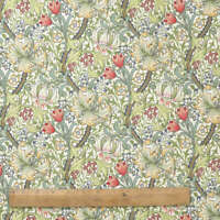 William Morris Golden Lily 100% Heavy Weight Cotton Fabric by the Half Metre