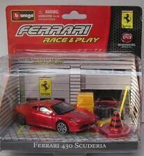 BURAGO 31100 Race & Play Ferrari 430 Scuderia scala 1/43