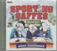 Sporting Gaffes On Air John Inverdale CD NEW Audio BBC Broadcasting Blunders