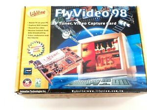 TV RECEIVER PCI CARD TUNER PC Lifeview Flyvideo'98 WATCH RECORD COLLECTORS ITEM