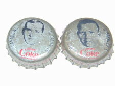 lot of 2 1964-65 Coke hockey caps Balon/Barkley