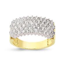 Cubic Zirconia Wedding Eternity Fine Rings