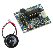 Nuevo Isd1820 Sonido Voz de Grabación reproducción módulo + Micrófono Y Altavoz