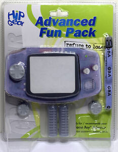 Hip Gear GBA Advanced Fun Pack For Game Boy Advance - Brand New Factory Sealed