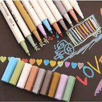 1pc/10pc 10 farbe Wasserdicht Permanent Marker Pen Lack Stationery Supply