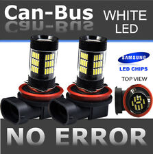 Samsung H11 42 LED 2nd Gen. Hyper Super White Fog Light Bulbs Direct Plugin E39