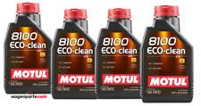 Aceite Motor Motul 8100 Eco-Clean Acea C2 FAP Fuel Eco Peugeot B71 2290, 4 Ltr