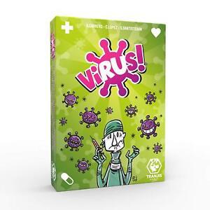 Tranjis Games. Juego de cartas Virus. Edición Española. 2-6 jugadores. + 8 años