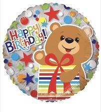 "5 Happy Birthday Bear 18"" Balloons Birthday Party Decorations"