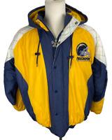 Starter San Diego Los Angeles Chargers Hooded Jacket Vintage 90s NFL Sz Large