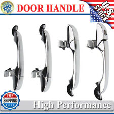4Pcs Outer Door Handle Chrome Set For Chrysler 300 C 05-10 Dodge Magnum 05-08