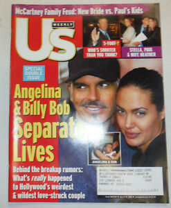 US Weekly Magazine Angelina Jolie Sylvester Stallone July 2002 032415R