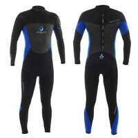 Legacy 5mm Mens Full Wetsuit Winter GBS Steamer Long Wet Suit Surf Swim S-XXL