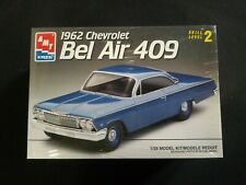 Amt / Ertl - 1962 Chevrolet Bel Air 409 Hardtop - Model Kit 1/25 Brand New