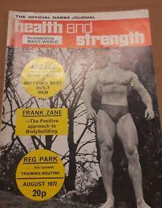 Health and Strength Magazine Aug1972 Reg Park bodybuilding Arnold Schwarzenegger