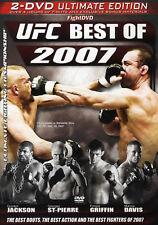 UFC The Best Of UFC 2007 2x DVD