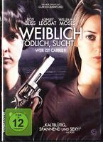 Weiblich, tödlich sucht... - Wer ist Carrie? DVD Boti Bliss Ashley Leggat NEU