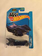 BATMAN BATMOBILE HW City - 2013 Hot Wheels Die Cast Car - Mint on Card