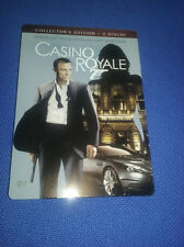 cofanetto+DVD nuovo film 007 - Casinò Royale (2006) s.e. 2 DVD metal box D.Craig