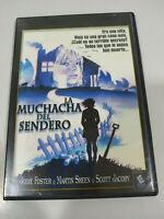 La Muchacha del Sendero Jodie Foster Martin Sheen Terror - DVD Region 2