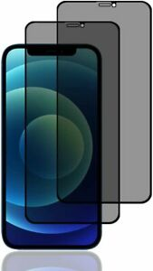 2x iPhone 12 / 12 Pro Sichtschutz Schutzfolie Display Schutzglas 9H Panzerfolie