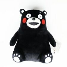 Kumamon Cute Black Bear Soft Toy Real