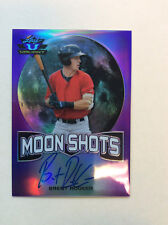 BRENT ROOKER 2017 Leaf Valiant Draft AUTO Autograph Moon Shots Purple Card 10/15