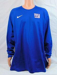Nike New York Giants Hyperwarm On Field Sweatshirt Sz 4XL NEW CI1641 495 RARE