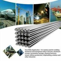 US 10PCS 33cm 2.0mm Solution Welding Flux-Cored Rods Aluminum Wire Brazing