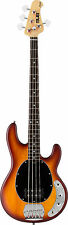 Sterling por Music Man RAY4HBS Bajo Eléctrico Guitarra Sub Series honey burst Satinado