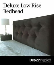 Deluxe Low Bedhead for Queen Size Ensemble - Shale