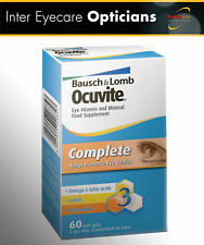 **Ocuvite Complete Eye Supplement 30 DAY SUPPLY (1 MONTH)!**