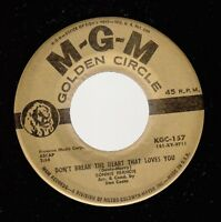 Pop 45 CONNIE FRANCIS Second Hand Love on MGM
