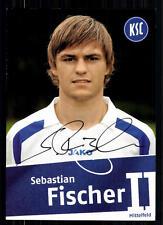 Sebastian Fischer Karlsruher SC II 2007 TOP AK  + A 72184