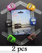 2 Digital Electronic LCD Tasbih Finger Tally Counter Islamic Islam Muslim    375