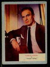 (Gg355-348) A & BC Gum, Who-Z-At-Star?, #60 Charles Korvin 1958 G-VG