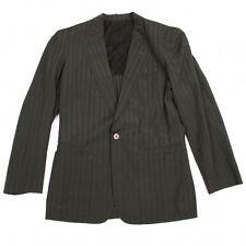 Jean-Paul GAULTIER HOMME Wool Stripe Jacket Size 48(K-46016)