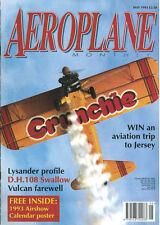 AEROPLANE 5/93 RNZAF HISTORIC FLIGHT_RAF BAGINTON_FOKKER Dr.I_DH.108_RAAF VAMPIR