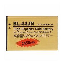BATTERIA DA 2450Mah per LG OPTIMUS L3 E400 L5 E610 BLACK P970 C660 PRO BL-44JN