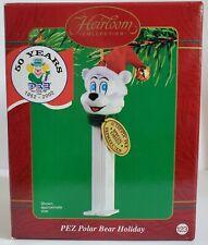 New Pez Polar Bear Holiday 50 Years Carlton Cards Heirloom Ornament