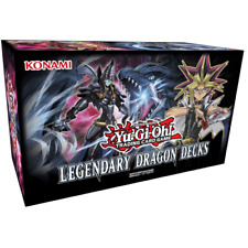 YUGIOH LEGENDARY DRAGON DECKS BOX INCLUDES 3 COMPLETE AND POWERFUL DRAGON DECKS