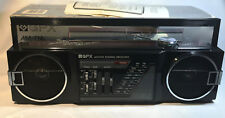 Vintage GPX Radio Mini Boombox AM/FM A275R Ghettoblaster w/original box & manual