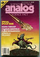 ANALOG Science Fiction Magazine 1980 11 Issue Lot