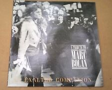 AN EXALTED COMPANION TO T.REX A Tribute To Marc Bolan 1988 VINYL Insert LP NEW