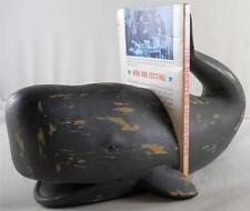 Sperm Whale Bookend Set Whaling Bookends Whales Fishermen Nautical Decor Books