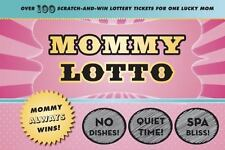NEW - Mommy Lotto: Over 100 Scratch-And-Win Lottery Tickets for One Lucky Mom