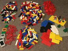 1100 Lego Grundsteine, City, Set, Bausteine, bunt, Fenster, Dachsteine,KG,